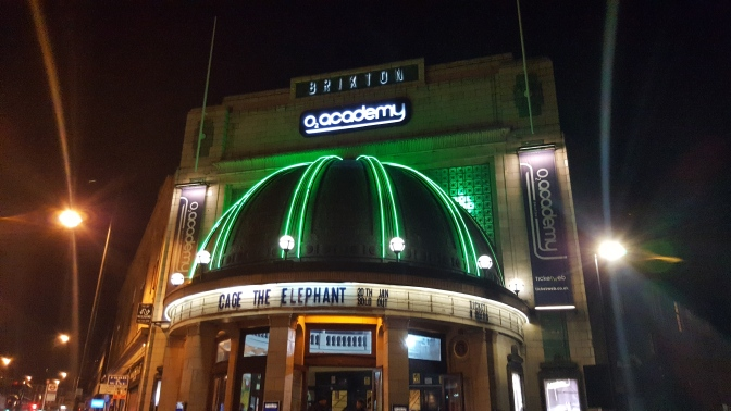 Live Review 20/01/17: Cage The Elephant at o2 Academy Brixton