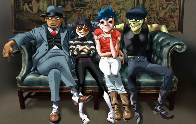New Music Friday In Brief 24/03/17: Gorillaz, Kendrick Lamar and more