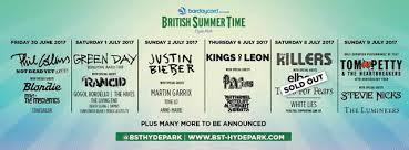 BST Line Up