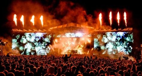 Creamfields Stage