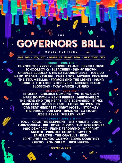 Governors Ball Line Up