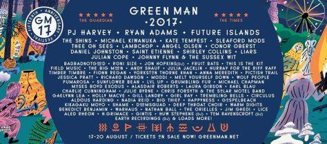 Green Man Line Up
