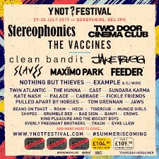 Y Not Festival Line Up