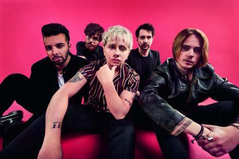 nothing but thieves by dean chalkley shot for Sony Music